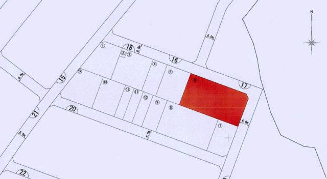西原町徳佐田区画整理地