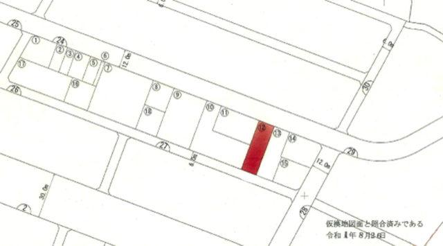 西原町翁長区画整理地