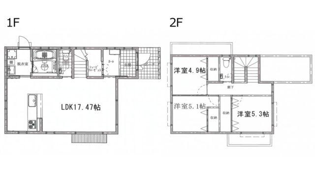 うるま市宇堅分譲住宅(3号棟)